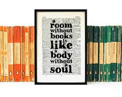 literary quotes etsy