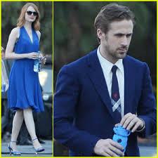 ryan gosling emma stone couple film emma stone teams up with ryan gosling again on la la land see