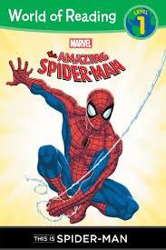 amazon spider man level 1 reader reading