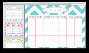 cute calendar template great printable calendars