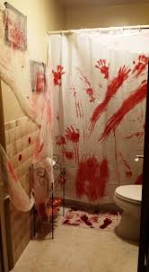 halloween bathroom decorations scary halloween house decorations
