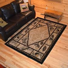 Area Rugs Ebay Awesome Western Rugs Ebay Pertaining To Rustic Area Delectably