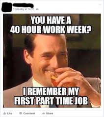 Work Friends Meme - 40 hour work week encouragement and support from my facebook