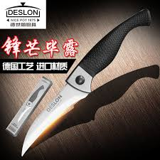 folding kitchen knives free shipping deslon stainless steel kitchen paring knife cut