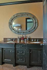 Distressed Bathroom Vanities Distressed Bathroom Cabinets Bathroom Eclectic With Distressed