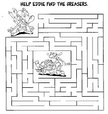 free printable mazes kids kids network