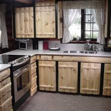 Rustic Kitchen Cabinets Rustic Kitchen With Unfinished Cabinet - Rustic kitchen cabinet