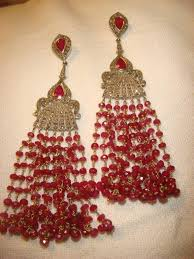 Chandelier Earrings India White Gold Pearl Chandelier Earrings Jaipur India