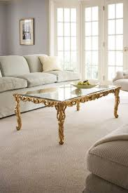 carved wood coffee table coffee table and carved wood in gold leaf coffee table
