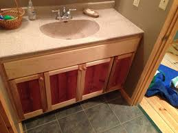 Maple Bathroom Vanity by Cabinets Mplswoodworkers
