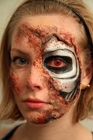 Diy Halloween Makeup by 32 Best Terminator Make Up Images On Pinterest Terminator Makeup