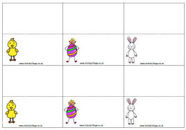easter place card printables