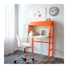 Ikea Computer Desk Ikea Ps 2014 Secretary Orange Birch Veneer Ikea