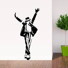 home decor stickers wall waterproof bathroom toilet sticker door find more wall stickers information about best selling dancing michael jackson wall stickers removable vinyl wall decor wall decals art poster diy home