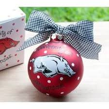 razorbacks ornament i made these before they are
