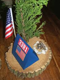 boy scouts centerpiece idea scouts pinterest centerpieces