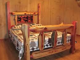 cedar log beds by cedar bluff furniture
