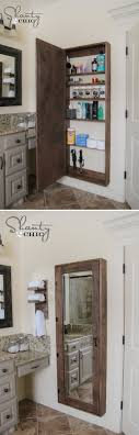Unique Bathroom Storage Ideas Diy Bathroom Mirror Storage That Holds Everything I