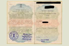 tibetan bureau office handwritten identity certificate becomes invalid for travelling