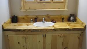Log Vanity Furniture Adirondack Logworks