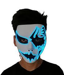 scary mask 2017 horror light up clown mask scary mask