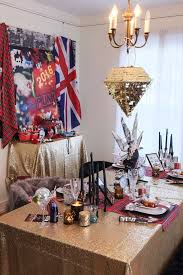 New Year S Eve Dinner Party Decorations by Kara U0027s Party Ideas Punk Glam New Years Eve Party Kara U0027s Party Ideas