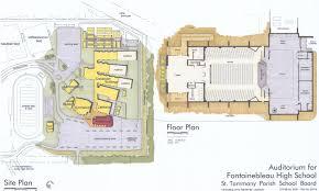 fontainebleau high auditorium