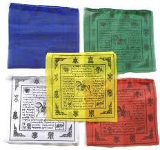 amazon com tibetan prayer flag large traditional design 10