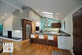 modern kitchen remodel franklin michigan labra design build