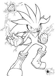 silver the hedgehog line art by sonicgirlgamer71551 on deviantart
