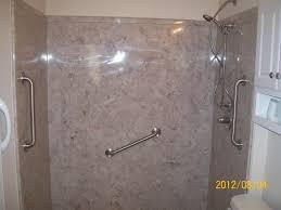 One Piece Bathtub Wall Surround Cultured Marble Tub Surround Round Designs