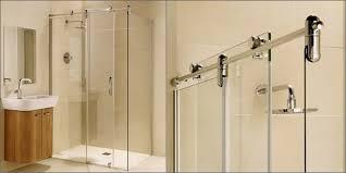 modren sliding shower doors frameless glass r inside design