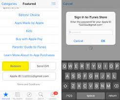 How To Redeem Itunes Gift Card On Iphone - how to redeem gift cards and promo codes on apple tv the iphone faq
