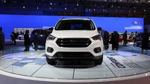 Ford Escape Specs - 2017 ford escape news and smartphone technology at the 2015 la