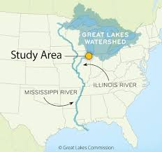 Mississippi lakes images Asian carp the great lakes separating the basins part 1 jpg