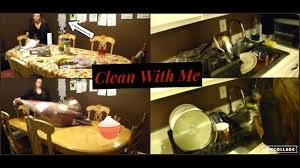 motivational cleaning hand wash dishes clean clutter off table