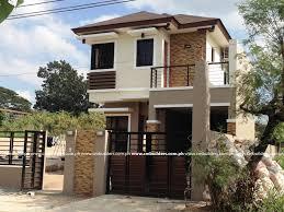 2 floor house modern zen design cm builders