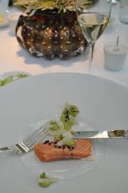cuisine facil birnbaum s salmon trout tarragon olive and turnip picture of