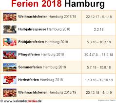 Kalender 2018 Hamburg Brückentage Ferien Hamburg 2018 übersicht Der Ferientermine