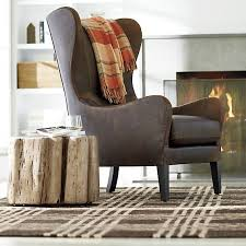 Accent Wingback Chairs Best 25 Leather Wingback Chair Ideas On Pinterest Leather