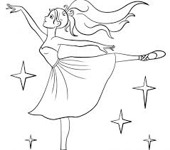 image coloring pages ballerina 30 kids coloring
