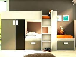 armoire bureau intégré lit mezzanine avec armoire lit mezzanine avec bureau integre
