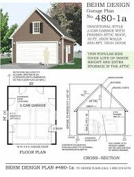 Garage Plans With Cost To Build Delighful 2 Car Garage Plans Carrolton Floor For Design Ideas