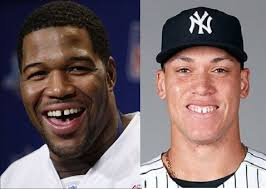 michael strahan new haircut nfl update on twitter aaron judge is the michael strahan of
