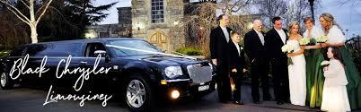 chrysler 300c black black chrysler stretch limo hire melbourne enrik limousines