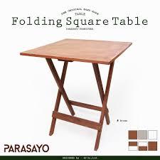 White Wooden Garden Furniture La La Life Rakuten Global Market Table Folding Wooden Garden