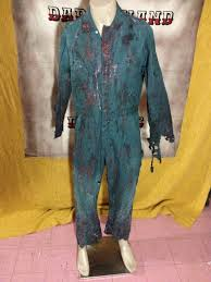 janitor jumpsuit items similar to green mechanic industrial janitor bloody jumpsuit