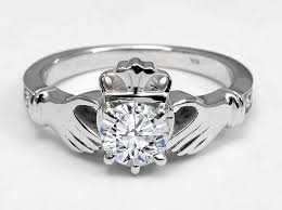 claddagh set claddagh engagement rings from mdc diamonds nyc