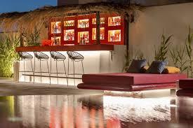 the pool area art hotel