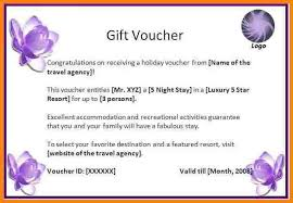 gift voucher templates word custom gift certificate templates for